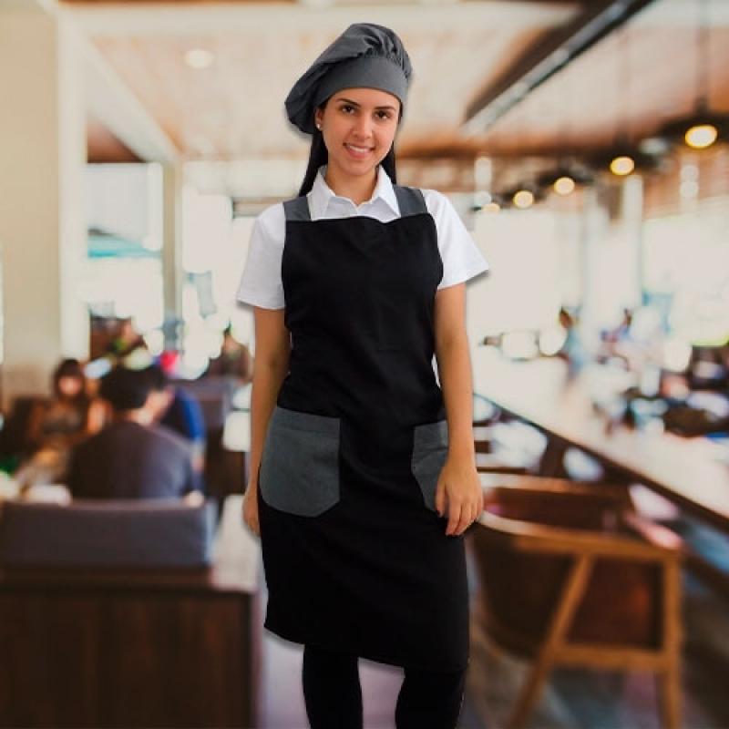 Avental Chef Cozinha Orçar Vargem Grande Paulista - Avental para Chefs de Cozinha