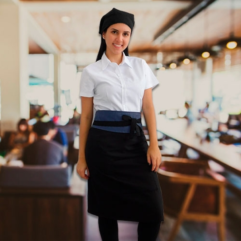 Empresa de Uniforme de Garçonete Jandira - Uniforme Garçonete Restaurante