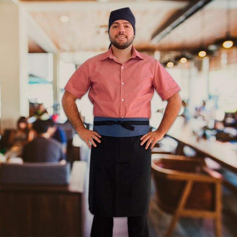 Empresa de Uniforme Garçonete Restaurante Cotia - Uniforme Garçom de Buffet