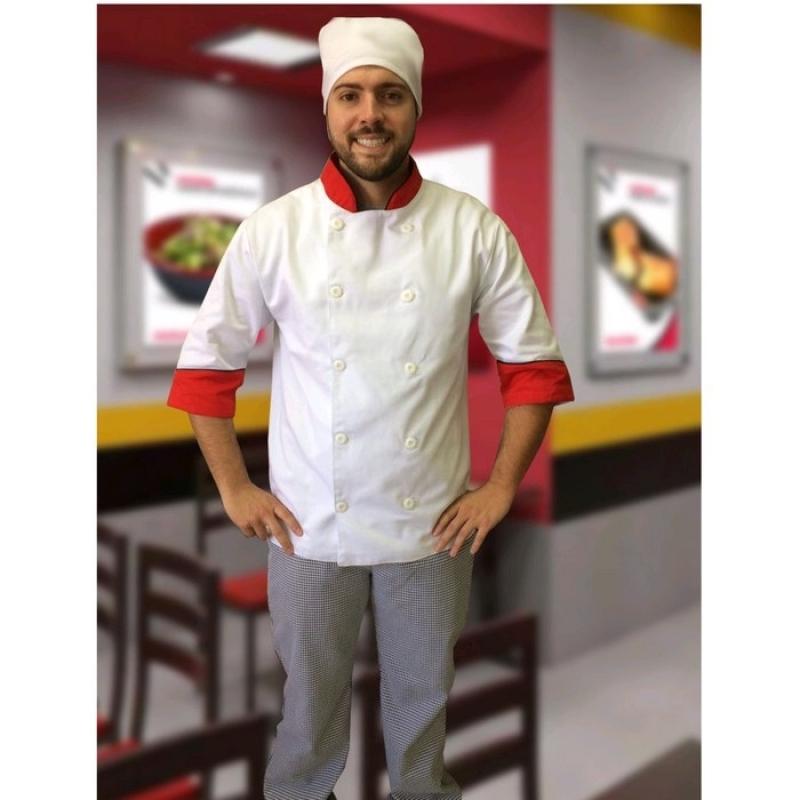 Loja de Uniforme Cozinheiro Branco Araras - Uniforme Cozinheiro Chefe