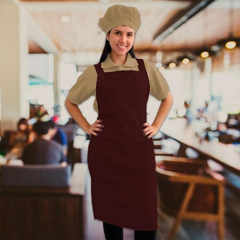Loja de Uniforme Cozinheiro Completo Mendonça - Uniforme Cozinheiro Chefe