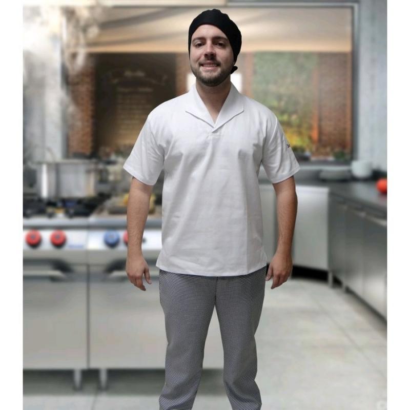 Onde Comprar Uniforme Cozinheiro Branco Santa Cecília - Uniforme Cozinheiro Chefe