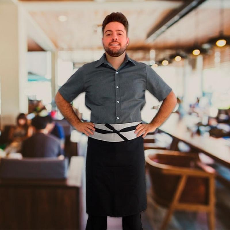 Onde Faz Uniforme Garçonete Restaurante Brooklin - Uniforme para Garçonete Buffet
