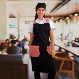 avental de peito para cozinha