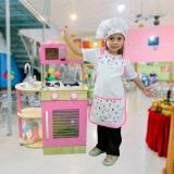 aventais chefs de cozinha infantis Jardins