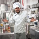 aventais de chefs personalizados São Vicente