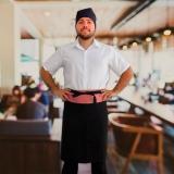 aventais de cozinheiros masculinos Jockey Club