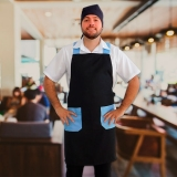 avental chef cozinha masculino orçar Cubatão