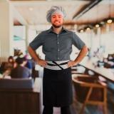 avental chef cozinha masculino Pompéia