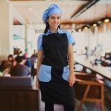 avental chef de cozinha feminino orçar Perus
