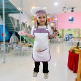 avental chef de cozinha infantil orçar Raposo Tavares