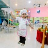 avental chef de cozinha infantil República