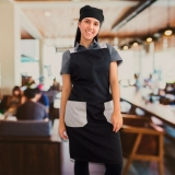 avental chef de cozinha personalizado orçar Vila Medeiros
