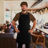 avental chef de cozinha São José do Rio Preto
