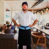 avental chef masculino orçar Parque Dom Pedro