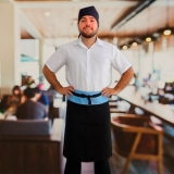 avental chef masculino orçar Rio Pequeno