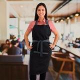 avental cozinheiro bordado à venda Votuporanga