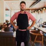 avental cozinheiro bordado Pompéia