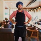 avental cozinheiro chefe à venda Parque do Chaves