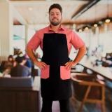 avental cozinheiro masculino Santa Efigênia
