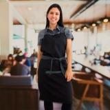 avental cozinheiro preto à venda Vila Albertina