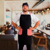 avental cozinheiro profissional Jockey Club