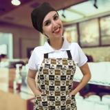 avental de confeiteiro com touca quanto custa Itapevi