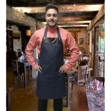 avental de cozinha orçamento Vila Anastácio