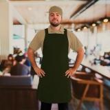 avental de cozinheiro masculino Brás