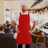 avental de cozinheiro personalizado Itaim Bibi