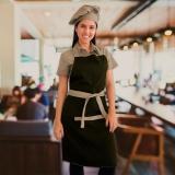 avental de cozinheiro profissional Jockey Clube