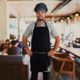 avental de peito para cozinha orçamento São Mateus