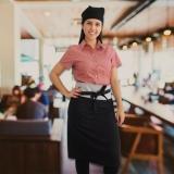 avental chef de cozinha feminino