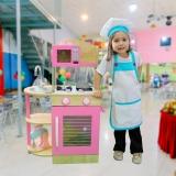 avental chef de cozinha infantil