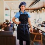 avental de chef personalizado