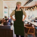 avental para chefs de cozinha
