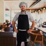 avental para chefs de cozinha orçar Sacomã