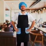 avental cozinheiro masculino