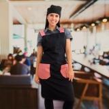 avental de cozinheiro profissional