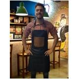 avental para garçom personalizado sob medida Jaçanã