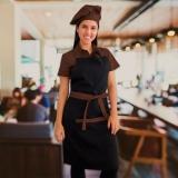 avental para garçom personalizado Aricanduva