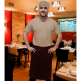 avental para garçom tipo saia sob medida Jaçanã