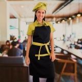 avental personalizado feminino com bolso à venda Parque Peruche