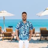 camisa para garçom de piscina preços Vila Guilherme