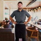 distribuidora de avental cozinheiro masculino Pari