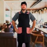 distribuidora de avental de cozinheiro masculino Pacaembu