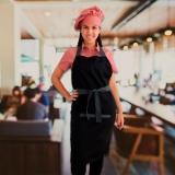 distribuidora de avental e chapéu cozinheiro Consolação