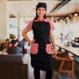 distribuidora de avental e gorro de cozinheiro Parque do Chaves