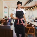 empresa de uniforme garçom restaurante Mauá