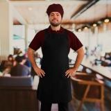 empresa que faz avental para garçom de tecido Alto da Lapa